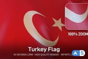 Videohive Turkey Flag 24565381