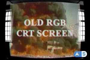 Videohive Old RGB CRT Screen 25695260
