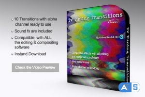 Videohive Tv Transitions 8632249