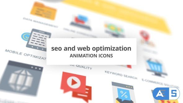Videohive SEO and Web Optimization – Animation Icons 26635085