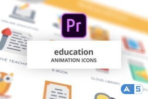 Videohive Education – Animation Icons (MOGRT) 26755697