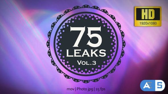 Videohive 75 Real Light Leaks and Bokeh – Pack 3 21560985