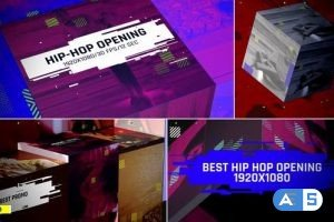Videohive Hip-Hop Opening/ Music Intro/ Rap/ Dance/Action/ Electronic/ Party Promo/ Box/ Festival/ Glitch TV I 26679021