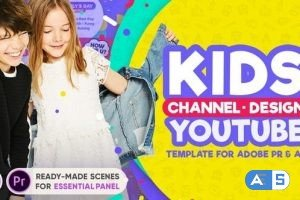 Videohive Kids YouTube Channel Design 20228316