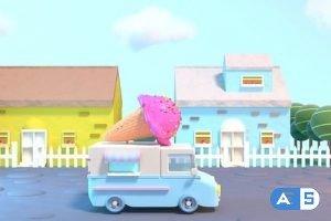 Videohive Toon Ice Cream Truck 20216522
