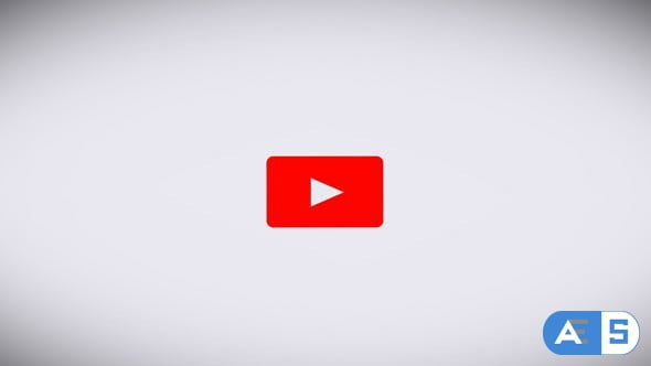 Videohive The Youtube Logo Transforms Into a Subscribe Button on a White Background 21416021