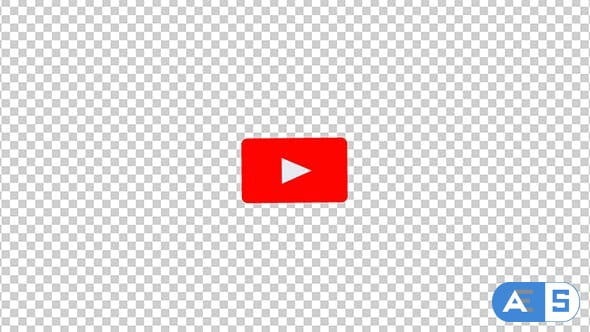 Videohive The Youtube Logo Transforms Into a Subscribe Button With Alpha Channel 21416060