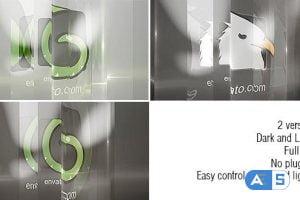 VideoHive Glass Logo 11371901