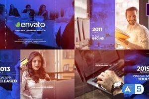 Videohive Corporate Timeline Presentation Mogrt 26713588