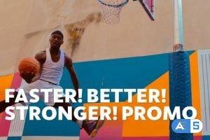 Videohive Faster Better Stronger   For Final Cut & Apple Motion 26662876