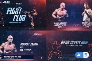 Videohive Fight Club Broadcast Pack v2 20617589