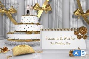 Videohive Wedding Cake Opener 16317828