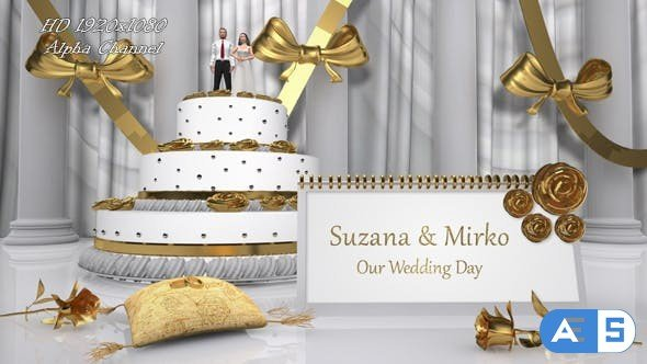 Videohive Wedding Cake Opener 16317828