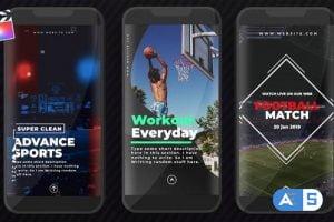 Videohive Sports Instagram Stories 26602923