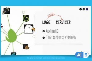 Videohive Logo Reveals Services – Intro & Outro 3431398