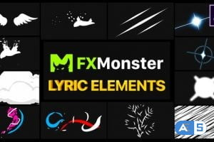 Videohive Lyric Elements   After Effects 26541334