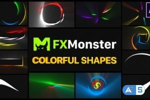 Videohive Colorful Shapes | After Effects 26589904