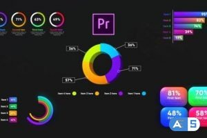Videohive Infographic Graphs Toolkit-MOGRT 26721002