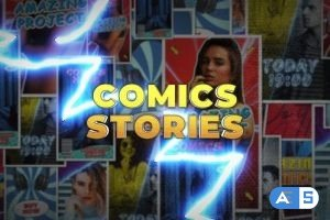 Videohive Comics Instagram Stories 26735231