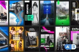 Videohive 12 Instagram Stories Vol. 10 26818577