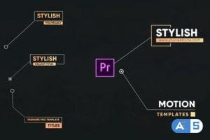 Videohive Stylish Callout Titles-Premiere Pro 26542055