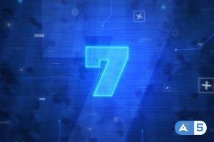 Videohive Digital Countdown Intro 26526801