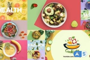 Videohive  Health Food Intro 26160562