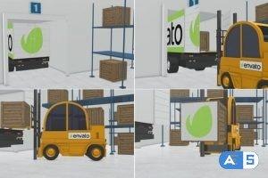 Videohive Logistic Company Box Opener 21975877