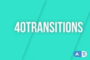 Videohive Transitions Pack Colorful 23735563