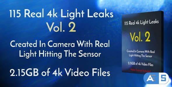 Videohive 115 Real 4k Light Leaks Overlay Pack Vol2 18223495