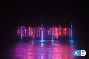 Videohive Cyber Glitch – Neon Logo Reveal 23839826