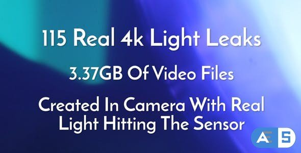 Videohive 115 Real 4k Light Leaks Overlay Pack Vol1 16641892