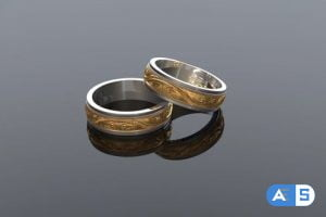 Videohive Wedding Rings Background 19877248