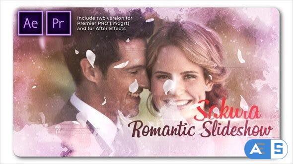 Videohive Sakura Wedding | Cinematic Slideshow 26752713