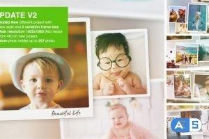 Videohive Special Moments Photo Slideshow V2 26257584
