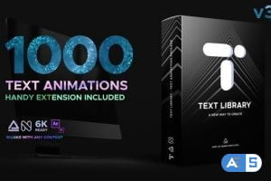 Videohive Text Library – Handy Text Animations V3.1 21932974