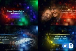Videohive Global Accessibility Awareness Opener 26683623