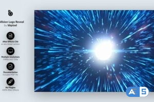 Videohive Collision Logo Reveal 25897088