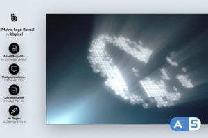 Videohive Dot Matrix Logo Reveal 25780115