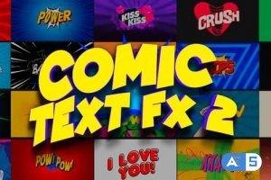 Videohive Comic Text FX 2 23734210