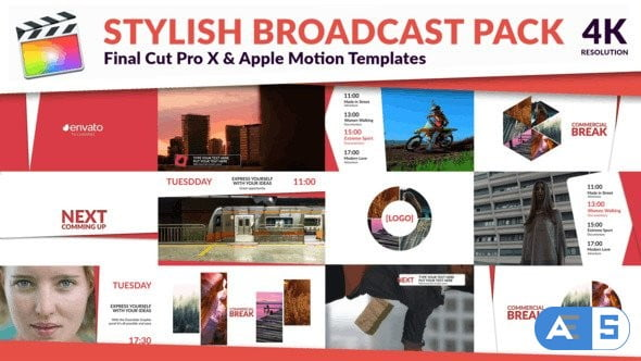 Videohive Clean TV – Stylish Broadcast Pack 26864143