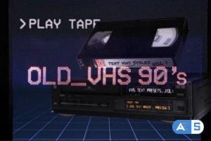 Videohive VHS Glitch Titles Presets 26524488