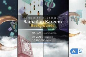 Videohive Ramadan Kareem Backgrounds 26539776