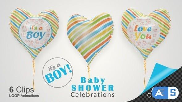 Videohive Baby Shower Celebration – Baby Boy 26731016