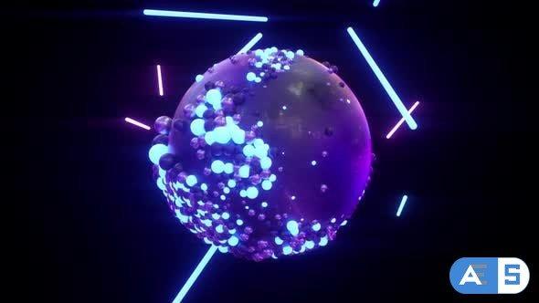 Videohive Sphere Lights 25720206