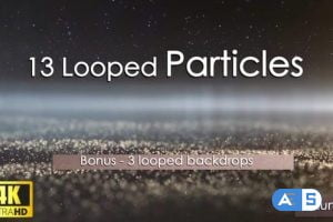 Videohive 13 Looped Particles 4K 23990306