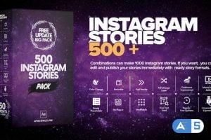Videohive Instagram Stories 23458472 (With 27 January 20 Update)