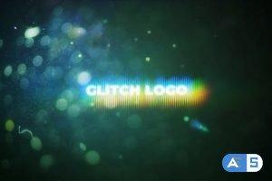 Videohive Flare Glitch Logo Mogrt 26599077