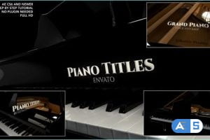 Videohive Piano Titles 26780122