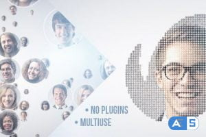 VideoHive Simple Mosaic 11454694